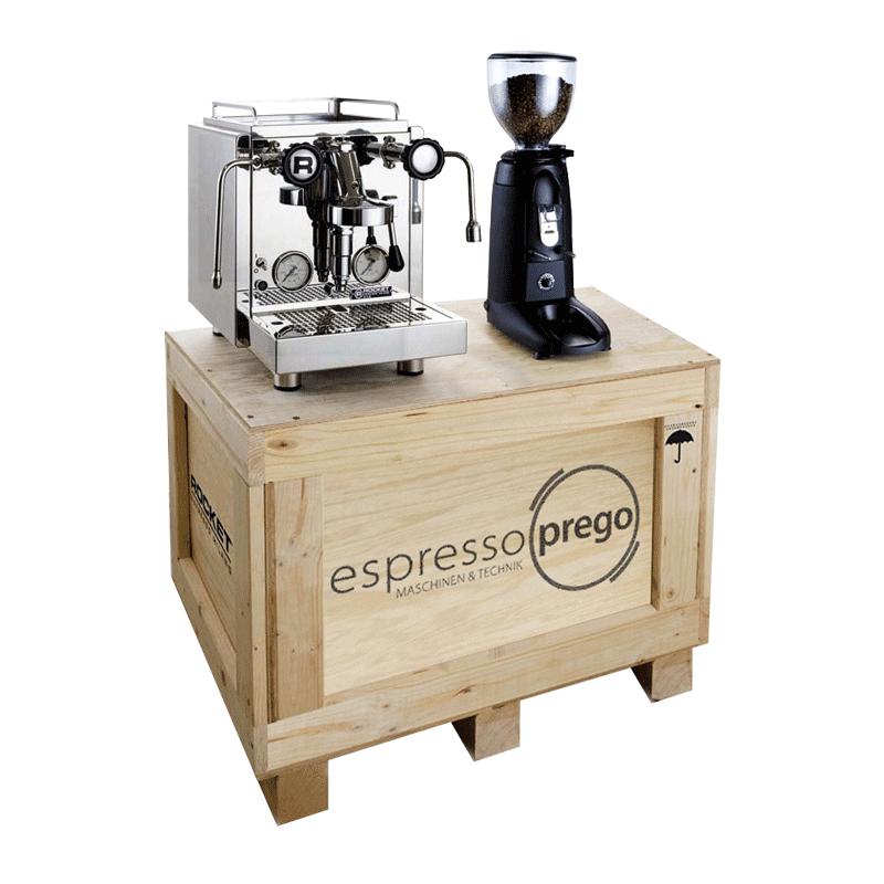 rocket espresso r58 & compak k3